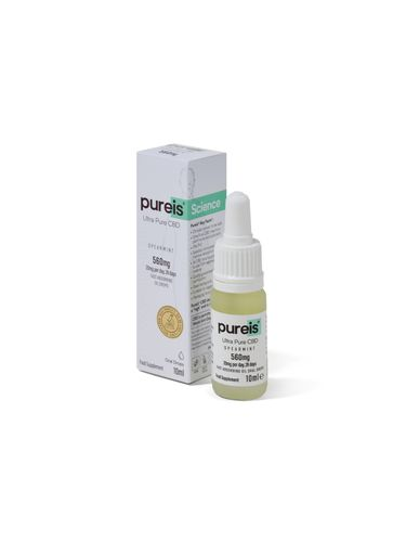 Fast Absorbing Oil 560mg, 20mg per day, 28 days, Spearmint Flavour Oral Drops