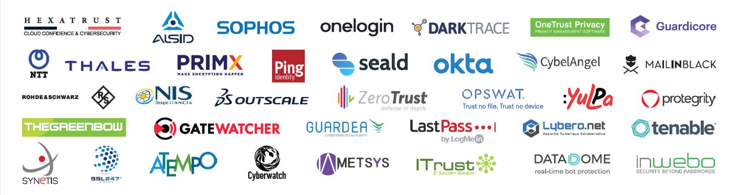 Cloud security logos