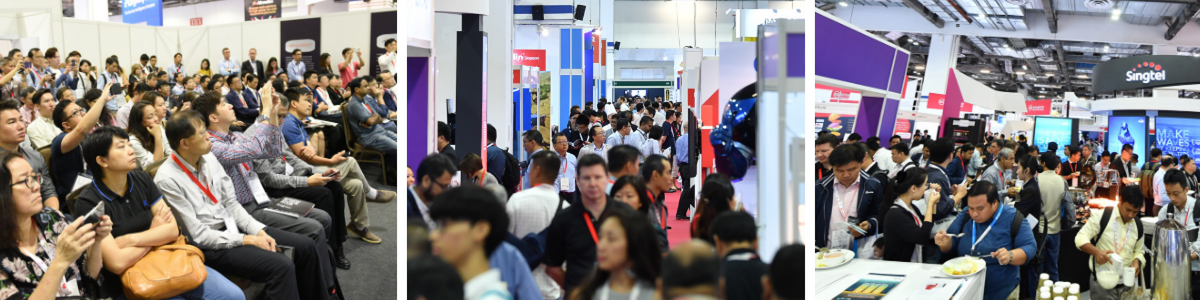 Cybersecurity world asia pictures of conference session and exhibition floor