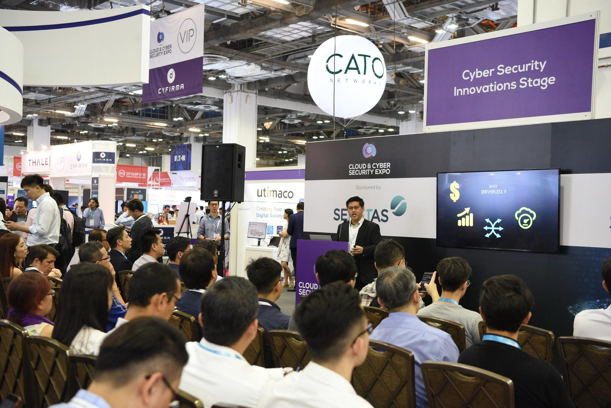CYBER SECURITY INNOVATIONS STAGE