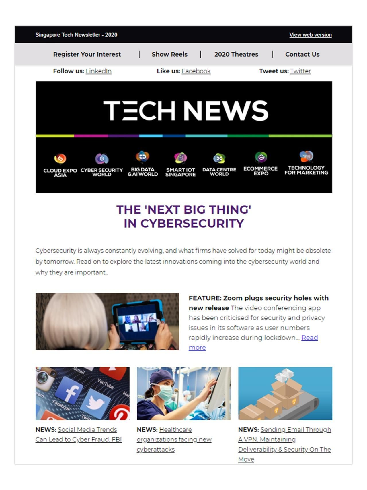 CSWA April newsletter