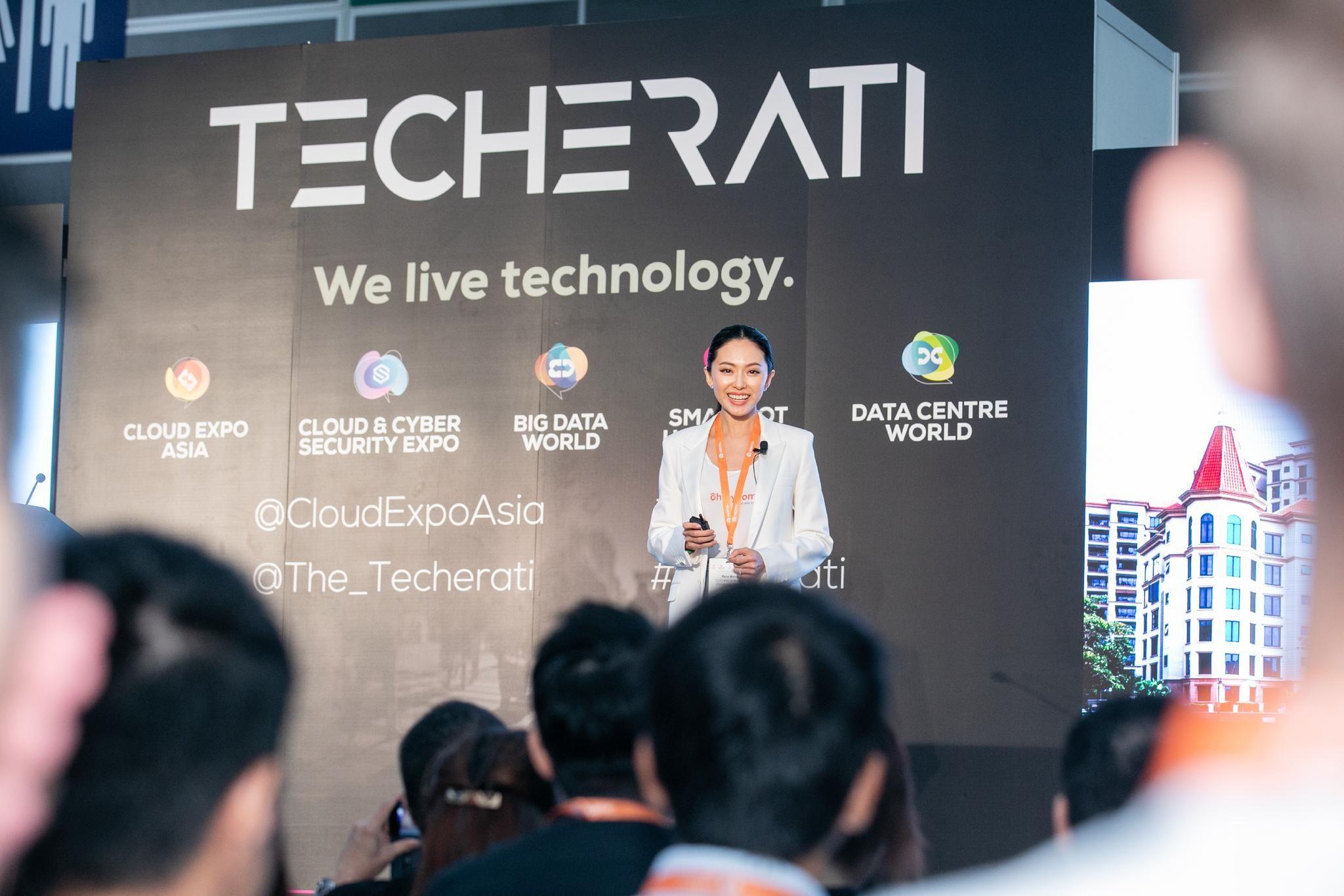 Race Wong in Cloud Expo Asia Hong Kong Tech event