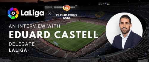 eCommerce Expo - Expert Interview - Mr Eduard Castell, Delegate at LaLiga