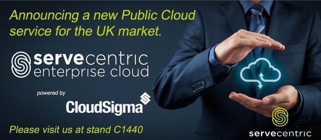 Servecentric to launch Public IaaS service, Servecentric Enterprise Cloud to UK market at CloudExpo Europe 2020