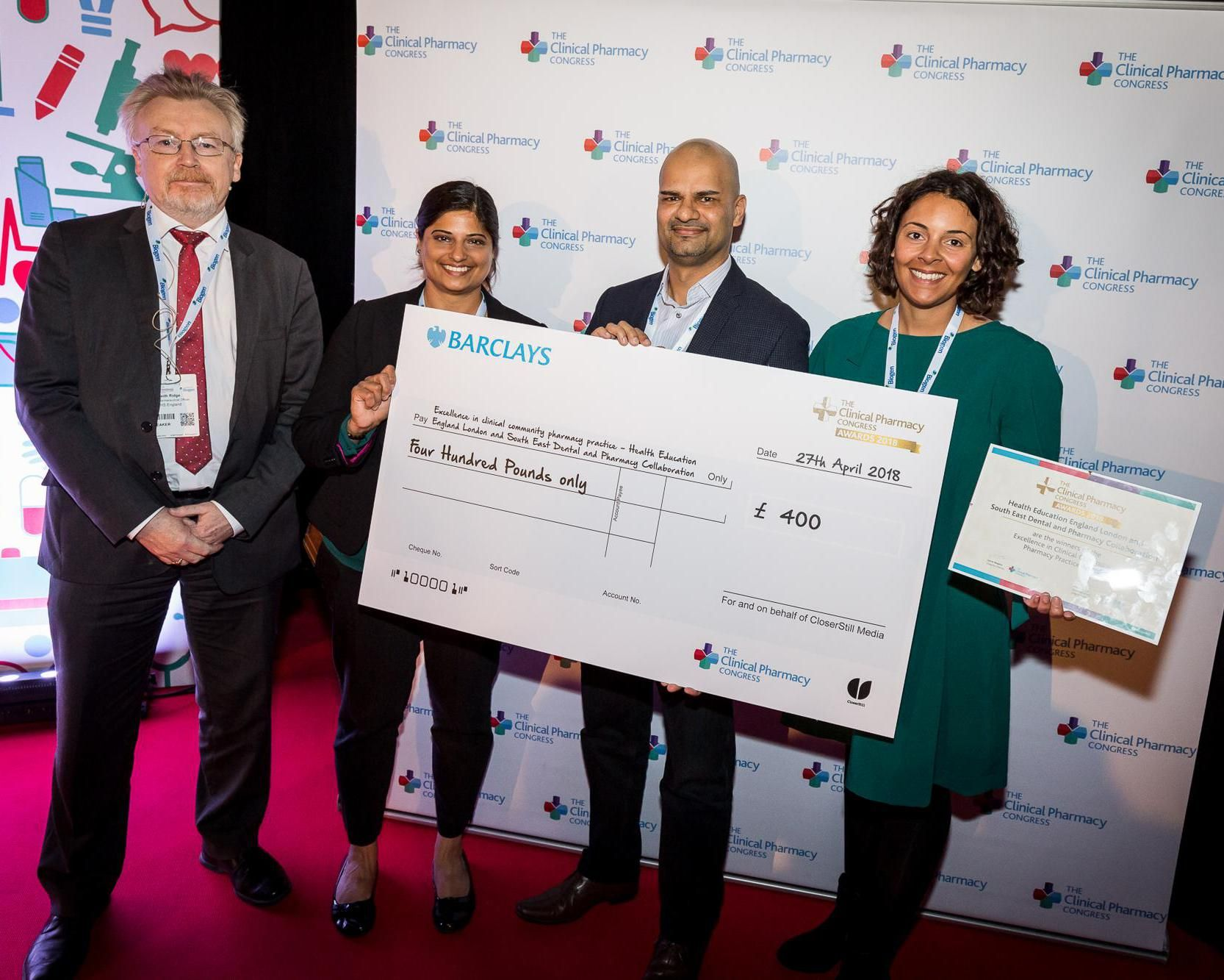 The Best of Clinical Pharmacy Awards