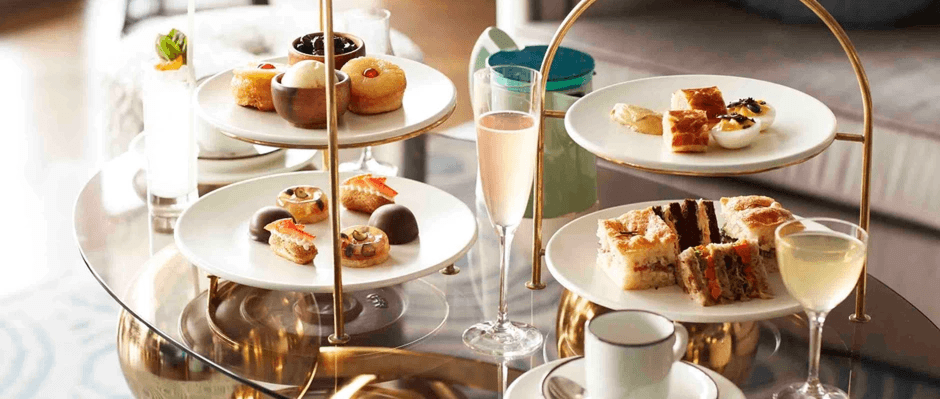 The tradition of taking afternoon tea