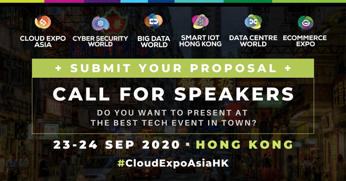 Speaker recruitment for data centre world hong kong