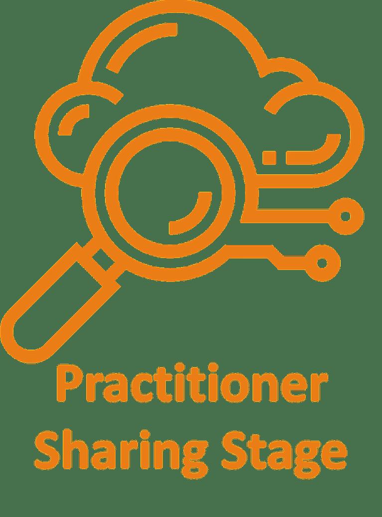 practitioner sharing stage at devops live