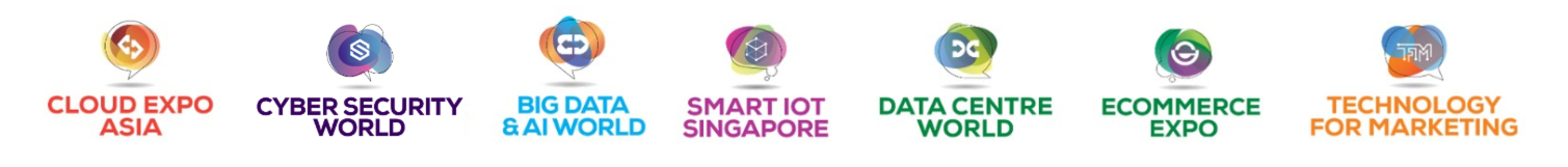 Show logos cloud expo asia cyber security world big data ai world smart iot
