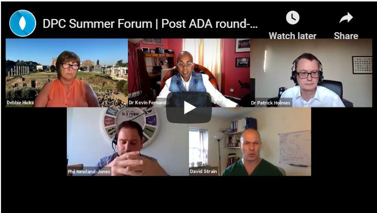 Session 1/5: Post ADA round-up