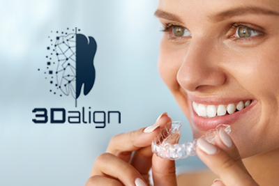 3Dalign clear aligners Quicker and more patient friendly than other systems