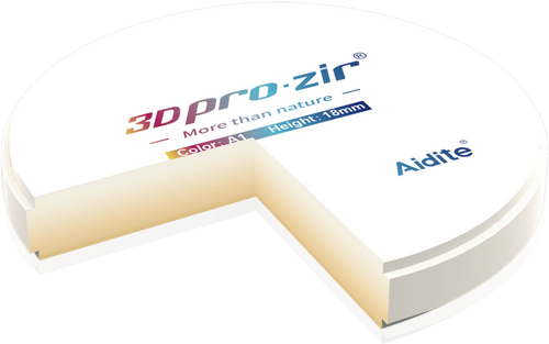 3D pro multilayer zirconia
