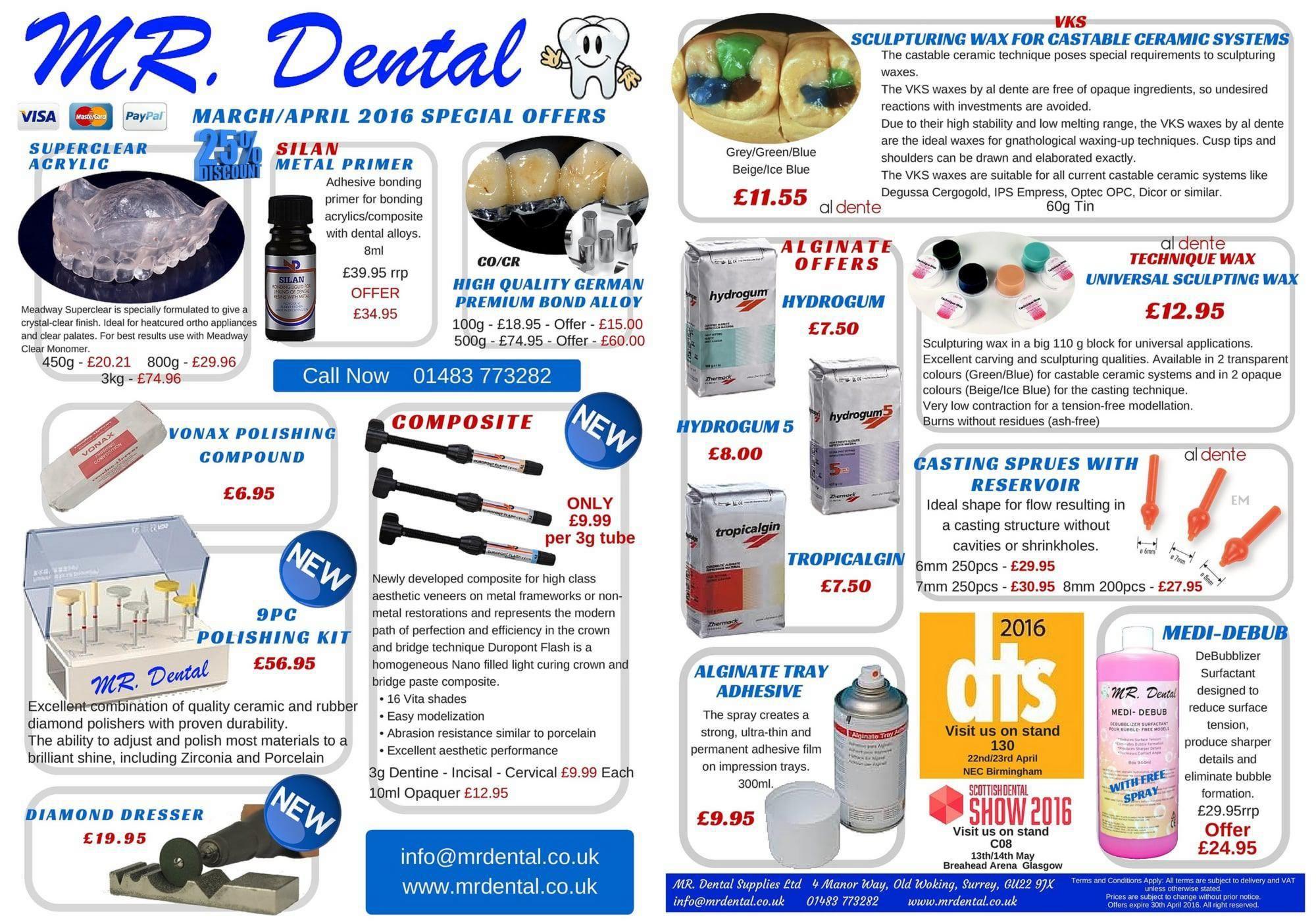 MR Dental DTS Press Release