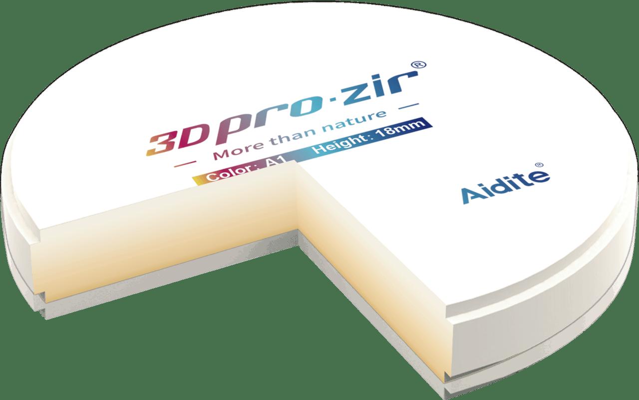 3D pro multilayer zirconia