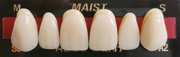 Maist acrylic teeth