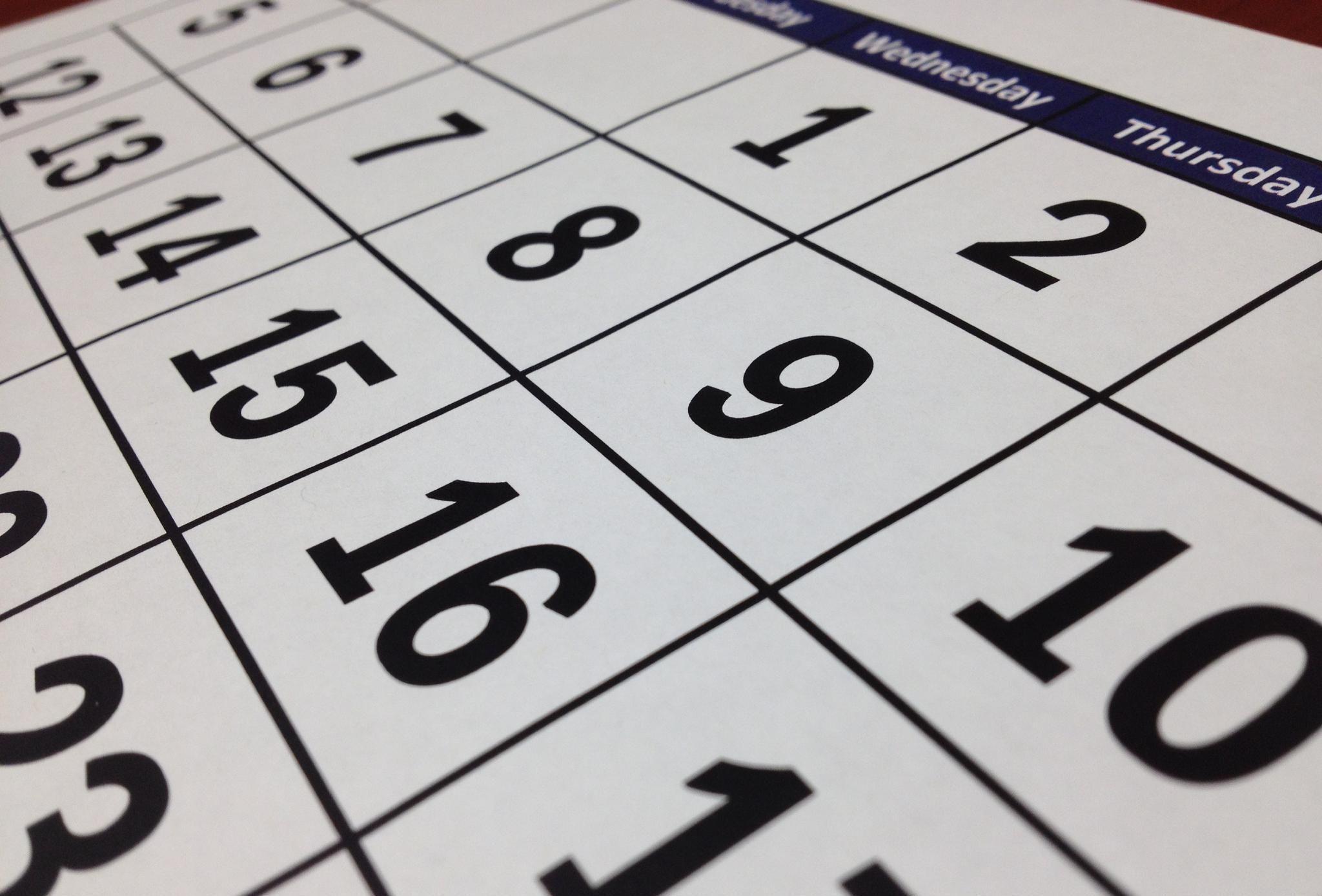 DATES, LIEU ET HORAIRES