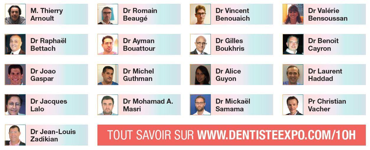 10h implantolologie conferenciers