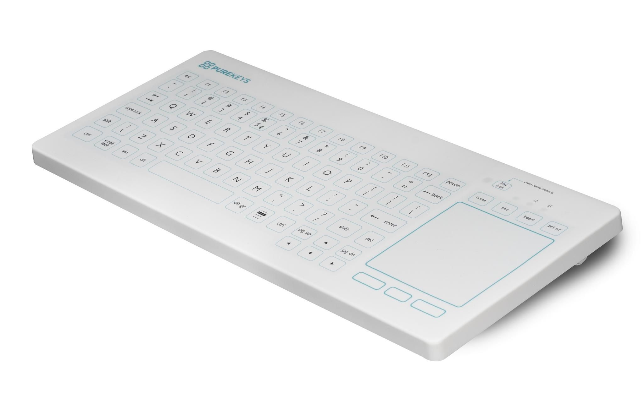 CliniTech Medical holds the key to further Infection Control Keyboard adoption, it's all about Touch!