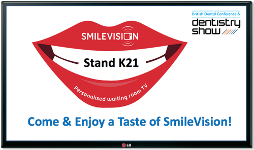 Visit stand K21 for a special taste of SmileVision!