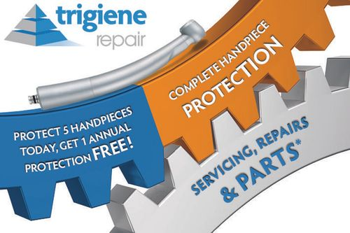 NEW 'Handpiece Service Care Plan' Stand M18