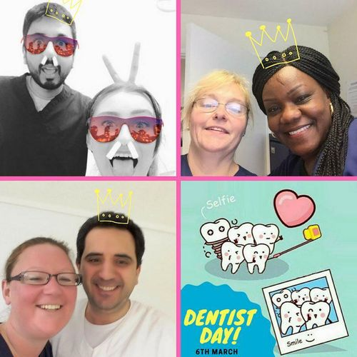 WE CELEBRATED DENTIST DAY ON THE 6TH MARCH