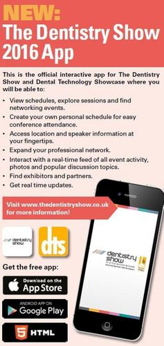 New App for The Dentistry Show and DTS 2016!
