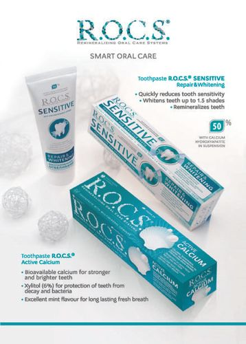 R.O.C.S. - Remineralizing Oral Care Products
