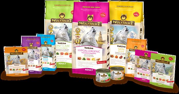 WOLFSBLUT präsentiert Veterinär-Hundefutter 2.0