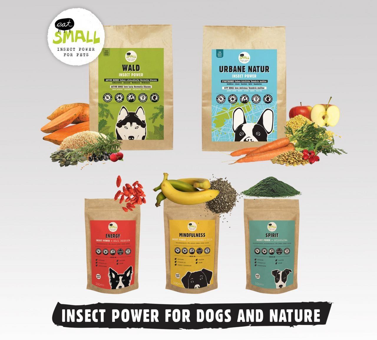 Premium Trockenfutter & kaltgepresste Trainingssnacks mit Insektenprotein als einziges tierisches Protein: Eine neuartige Option für Hunde, die an Nahrungsunverträglichkeiten leiden