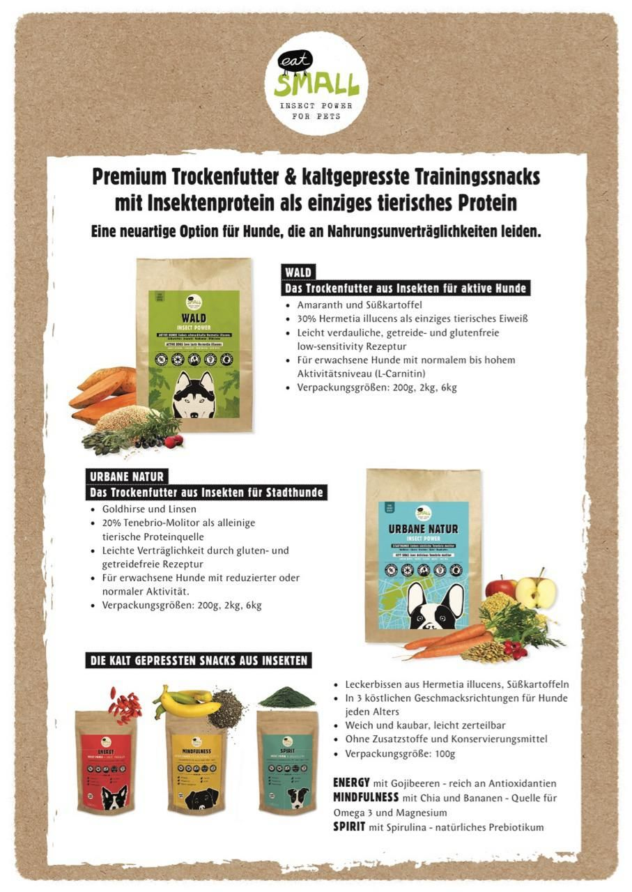 INSECT PROTEIN: SPECIAL FEATURES & APPLICATIONS IN CANINE MEDICINE. A lecture by Veronique Glorieux Dipl. DMV