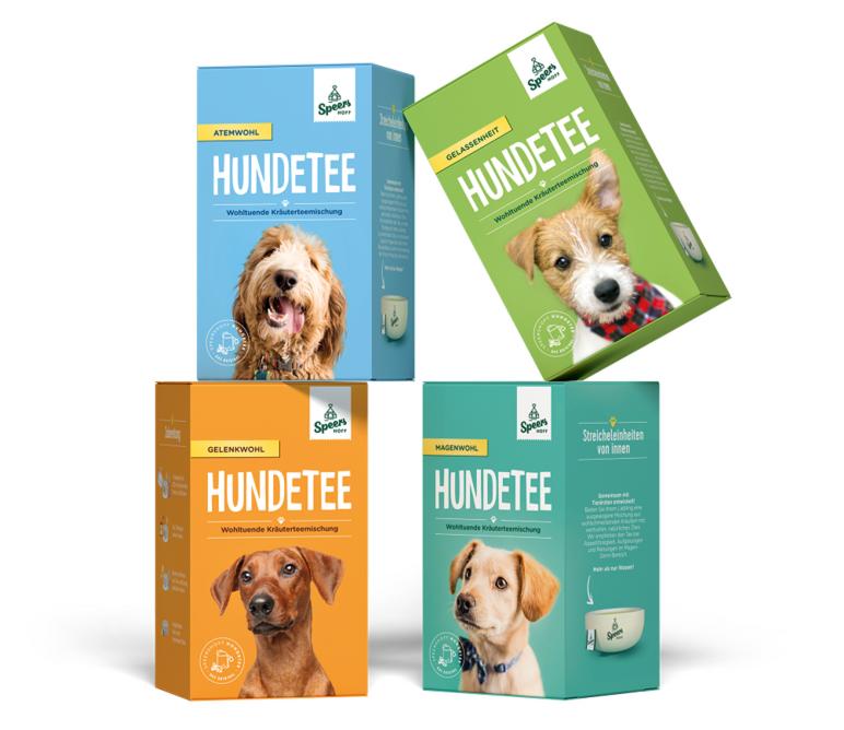 WAU! Speers Hoff führt Hundetee ein. Spezialist für Tiernahrung erweitert Range um natürliche und innovative Tees für bellende Vierbeiner