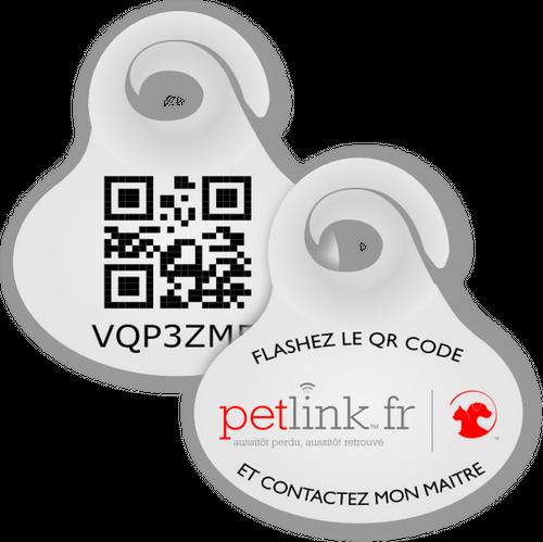 Petlink : une médaille innovante connectée à vie, pour suivre de près les animaux de compagnie