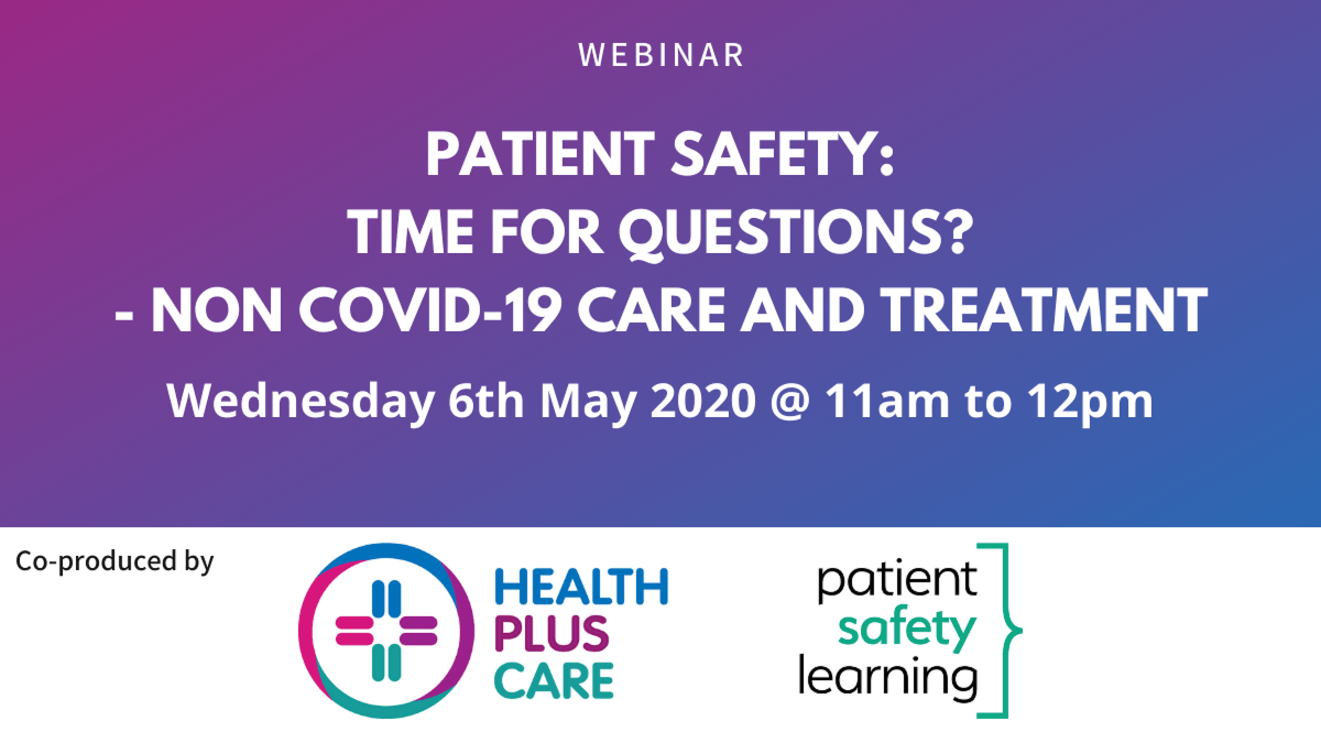 Patient Safety Webinar