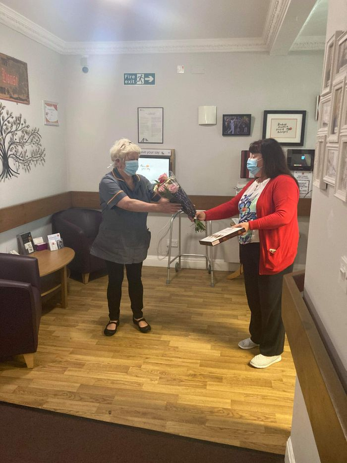 Leigh care home colleague goes over and above