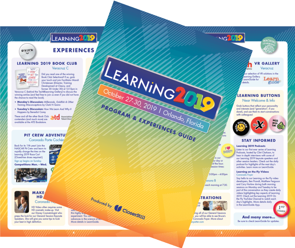 LEARNING 2019 Guide