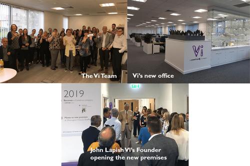 Vi - move to new premises
