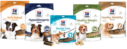 Hill's New Range of Five Delicious & Functional Dog Treats