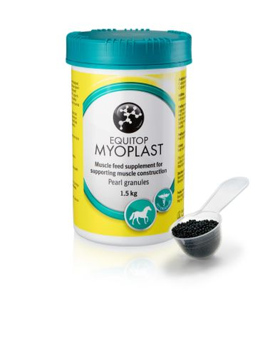 New consumer friendly packaging for Equitop Myoplast'