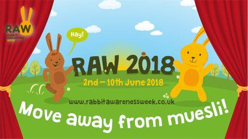 Rabbit Awareness Week 2018 2nd June to 10th June