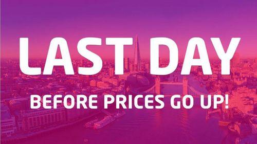 Price deadline today!