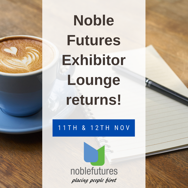 Noble Futures return with the Noble Futures Exhibitor Lounge for London Vet Show 2021!