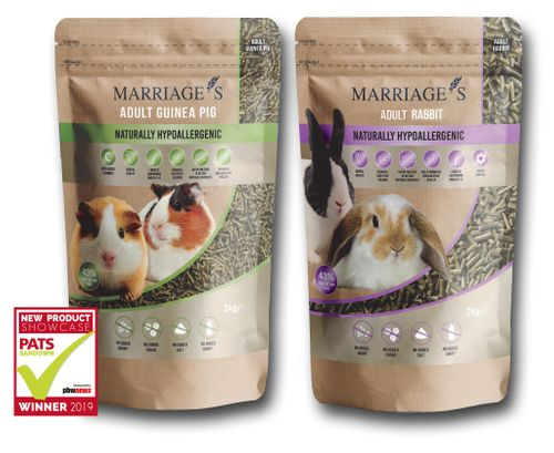 Marriage's NEW Hypoallergenic Nutri Pressed Small Animal Pellets