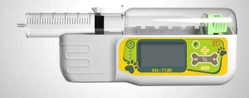 Portable syringe pump