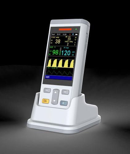 Vet Vital Sign Monitor--SpO2, NIBP, TEMP, EtCO2