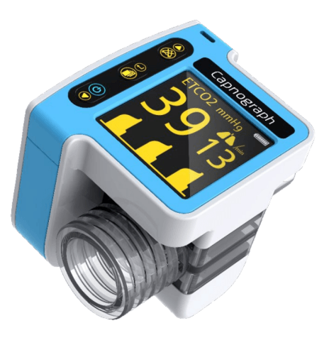 Portable Real-time Capnography