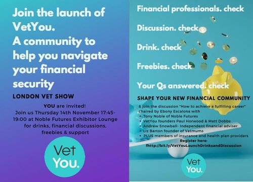 Tony Noble of Noble Futures to be guest speaker at the VetYou panel discussion at LVS 19