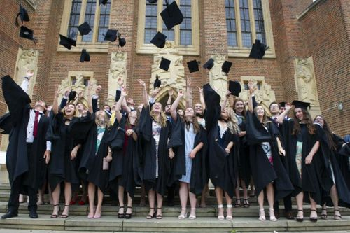 History made as Surrey's first cohort of veterinary students graduate