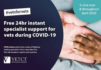 24-hour support for frontline Vets during COVID-19