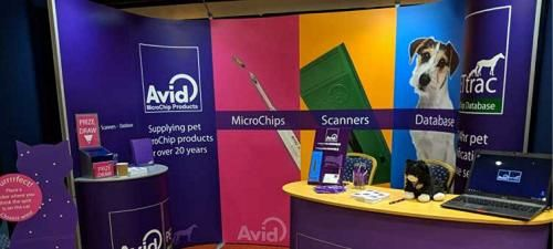 AVID will be showcasing its latest MicroChip products and services at London Vet Show on stand R32.