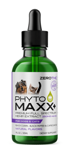 New Hemp Extract formula product from Animal Nutritional Products Inc, PhytoMAXX™ for Dogs and Cats